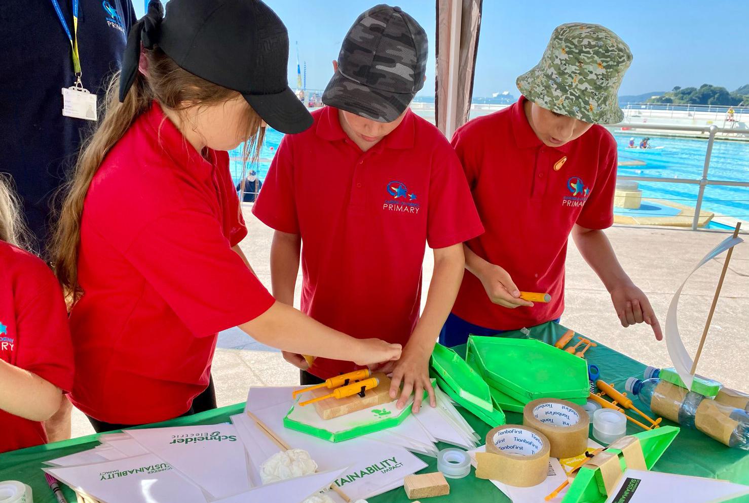 children STEM activity