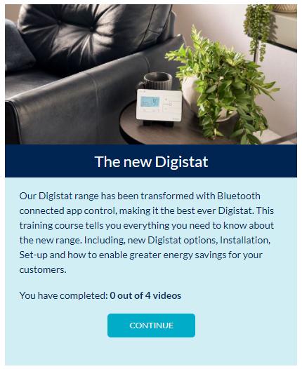 Drayton Know How free Digistat installer training module