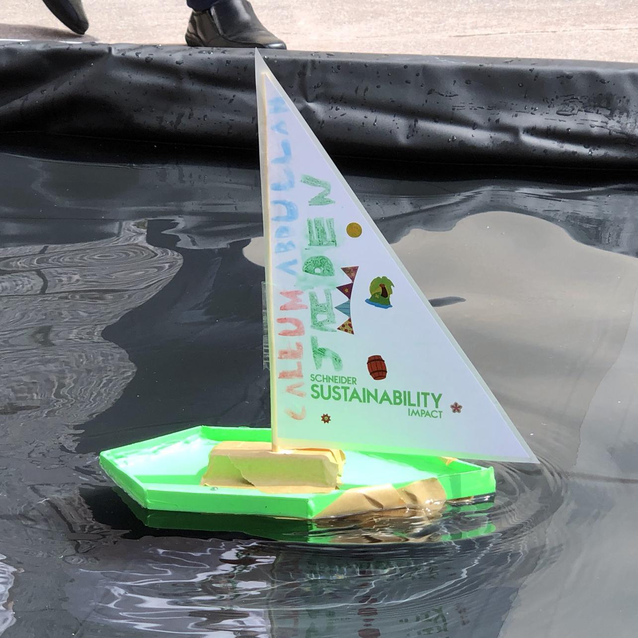 children STEM activity - how to make a motor boat design 4