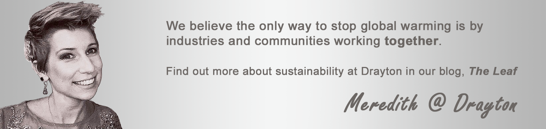 The Leaf - Drayton Sustainability Blog - Meredith Price