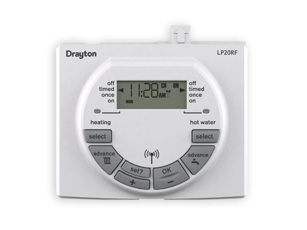 LP20RFDualChannelProgrammer_22590DR_Front With Shadow?itok=st8Rs0Ju lp clip in controls drayton controls heating controls, trvs drayton lifestyle lp722 wiring diagram at edmiracle.co